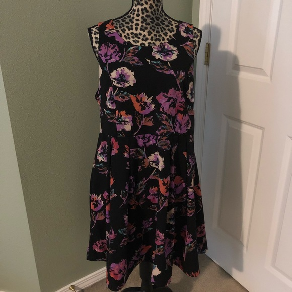 forever 21 plus size Dresses | Floral Print Dress | Poshmark